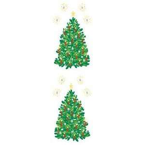 Bright Christmas Tree Scrapbook Stickers Arts, Crafts & Sewing