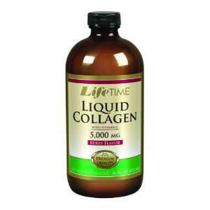 LifeTime Liquid Collagen with Vitamin C, 16 Ounce Health