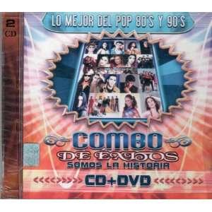 Lo Mejor Del Pop 80s Y 90s (CD+DVD) Varios Music