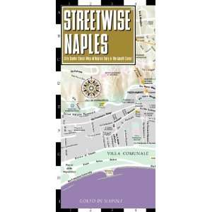 Streetwise Naples Map   Laminated City Center Street Map