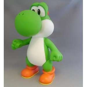 Nintendo Super Mario Bros 9 Inch Pvc Yoshi Figure