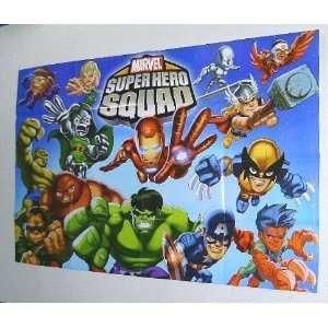 Marvel Super Hero Squad Kids Promo PosterAvengers/Hulk