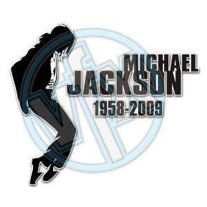 MICHAEL JACKSON MEMORIAL TRIBUTE DECAL 2 Automotive