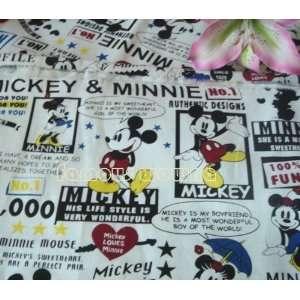fc274 whole mickey mouse minnie fabric cloth canvas sofa
