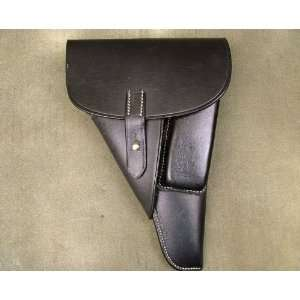 German WWII P 38 Softshell Black Leather Holster P38