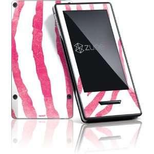 Pink Zebra skin for Zune HD (2009)  Players & Accessories