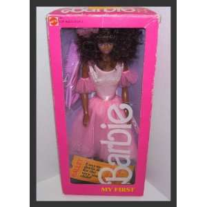 My First Barbie African American 1986 #1801 Toys & Games