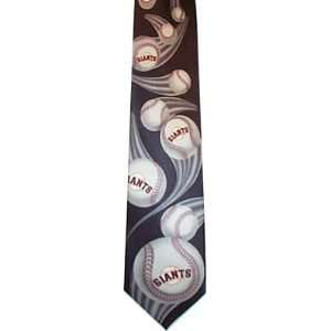 San Francisco Giants MLB neckties