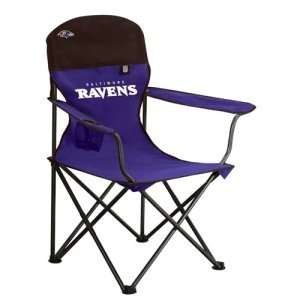 Baltimore Ravens NFL Deluxe Folding Arm Chair by Northpole Ltd