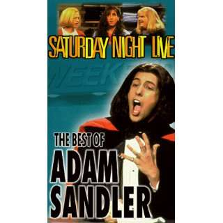 Saturday Night Live Best of Adam Sandler [VHS
