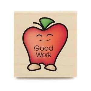 Good Work Wood Mouned Rubber Samp Office Producs