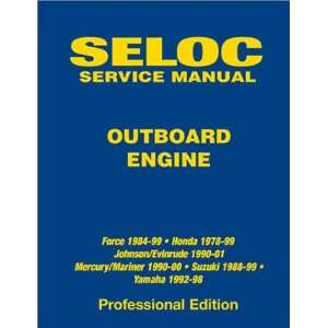 Seloc Outboard Engine Service Manual (9780893300586