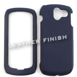 Pantech Crux 8999 Honey Navy Blue, Leather Finish Hard Case/Cover