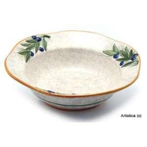 OLIVA Hexagonal Med. Salad/Pasta Bowl [#1533 OLV