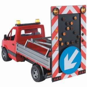 MB Pick up Truck with road security unit  Toys & Games