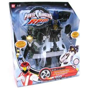 Power Ranger RPM Formula Transporter Series Black Transporter Toys