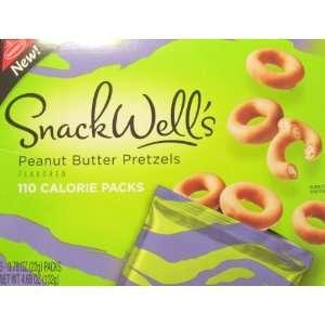 Snackwells Peanut Butter Pretzels 110 Calorie Packs
