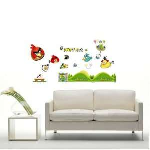 Bird I removable Vinyl Mural Art Wall Sticker Decal