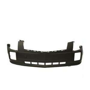 Cadillac SRX Primed Black Replacement Front Bumper Cover Automotive