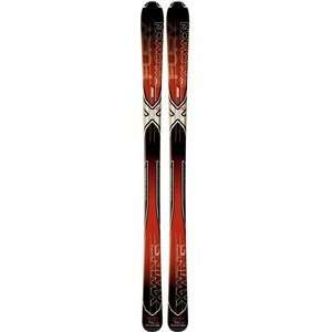 Salomon XW Fury Skis Red/Black