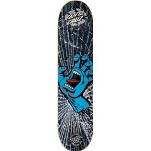 Santa Cruz Powerply Screaming Hand Skateboard Deck   7.7 x 31.5