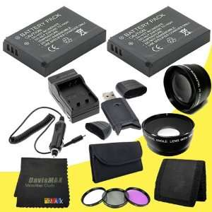 Wide Angle Lens + 2x Telephoto Lens + USB SDHC Card Reader + Memory