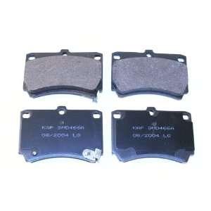 Prime Choice Auto Parts SMK466A Premium New Semi Metallic Front Brake