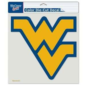 West Virginia Mountaineers 8in x8in Die Cut Decal  Sports