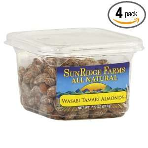 Sunridge Farms All Natural Almonds Wasabi Tamari, 7.5000 ounces (Pack