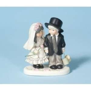 Kim Anderson Bride and Groom Figurine Cake Top Kitchen