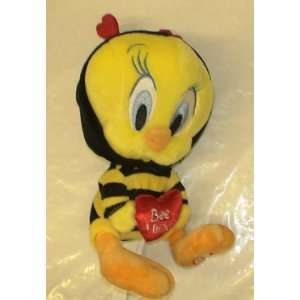 Looney Tunes Tweety Bird Valentines Day Plush Doll: Toys & Games