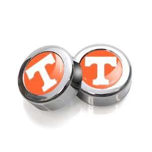 University of Tennessee Volunteers License Plate, Frame Chrome Screw