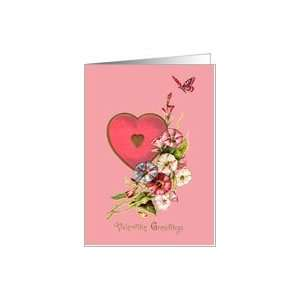 Valentines Day Greeting Card   Valentine Greetings