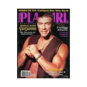 Playgirl Magazine, issue dated October 1994: Jean Claude Van Damme My