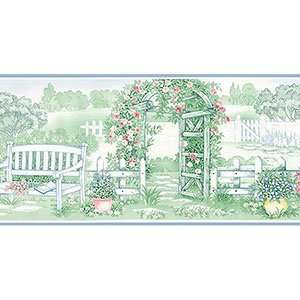 Garden Wallpaper Border in Kitchen Concepts 2
