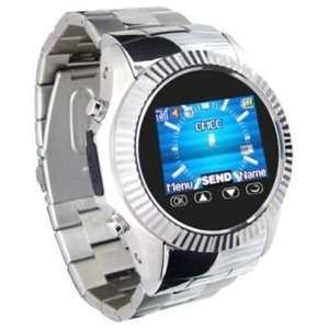 Metal Watch Cell Phone Mobile Unlocked CameraAT&T Q666A