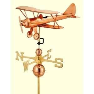 Good Directions Biplane Weathervane Patio, Lawn & Garden