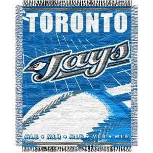 Toronto Blue Jays Major League Baseball Woven Jacquard Throw