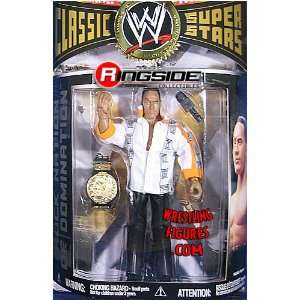 WWE Wrestling Classic Superstars Series 17 Action Figure The Rock