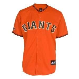 Youth San Francisco Giants Orange Alternate Replica Baseball Jersey