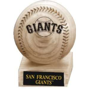 San Francisco Giants Maple Baseball with Stand Sports