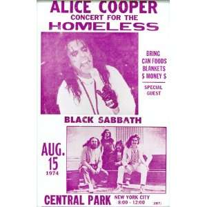 Alice Cooper and Black Sabbath Concert for the Homeless 14
