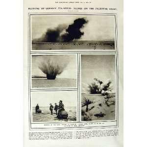 GERMAN MINES ANZAC WAR AFRICA ASKARI GUN