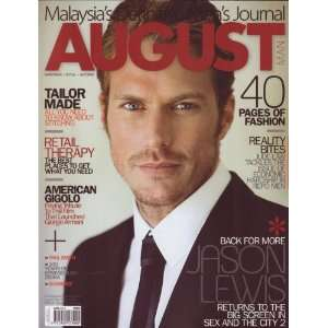 August Man June 2010 Jason Lewis: August Man Magazine