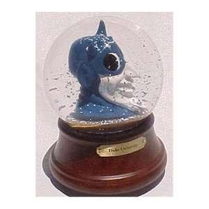 Duke Blue Devils La Mascot Musical Snow Globe Sports