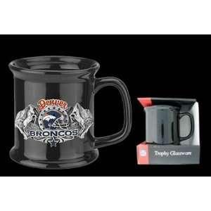 Denver Broncos 12oz Black Coffee Mug