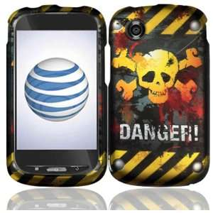 Danger Design Hard Case Cover for ZTE Avail Z990 Cell