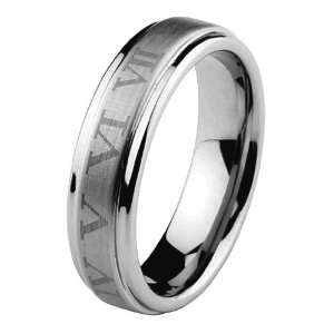 Number COMFORT FIT Wedding Band Ring for Men and Women (Size 5 to 15