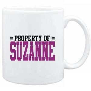 Mug White  Property of Suzanne  Female Names