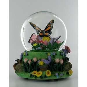Butterfly Musical Snow Globe Water Ball Butterflies